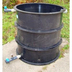 Pískový proplachovaný filtr - čov, čistička odpadních vod